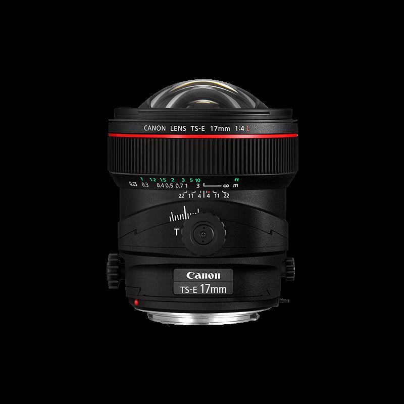 TS-E 17 mm f/4L