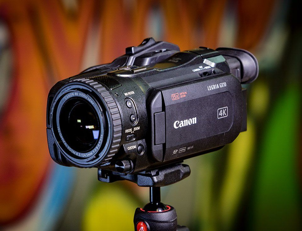 4K Digital Video Camcorders
