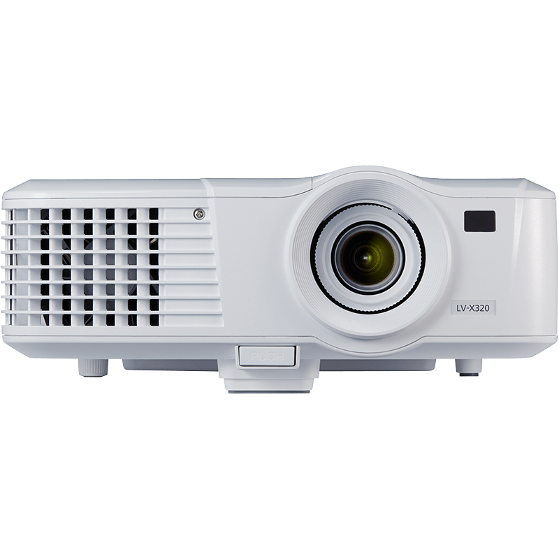 Compact portable small projectors canon uk for Best small hd projector