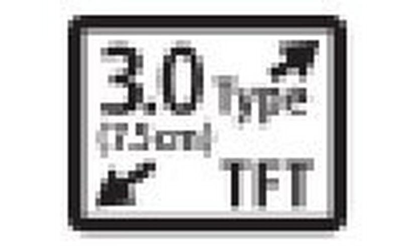 Large 7.5cm screen
