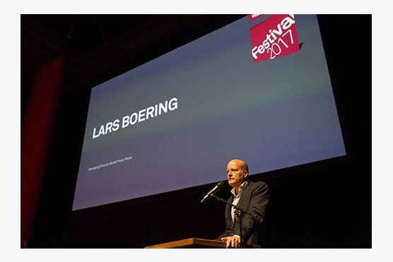 World Press Photo Foundation Managing Director, Lars Boering
