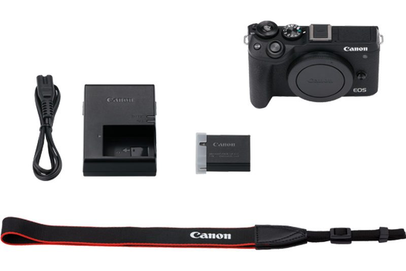 EOS M6 Mark II box contents