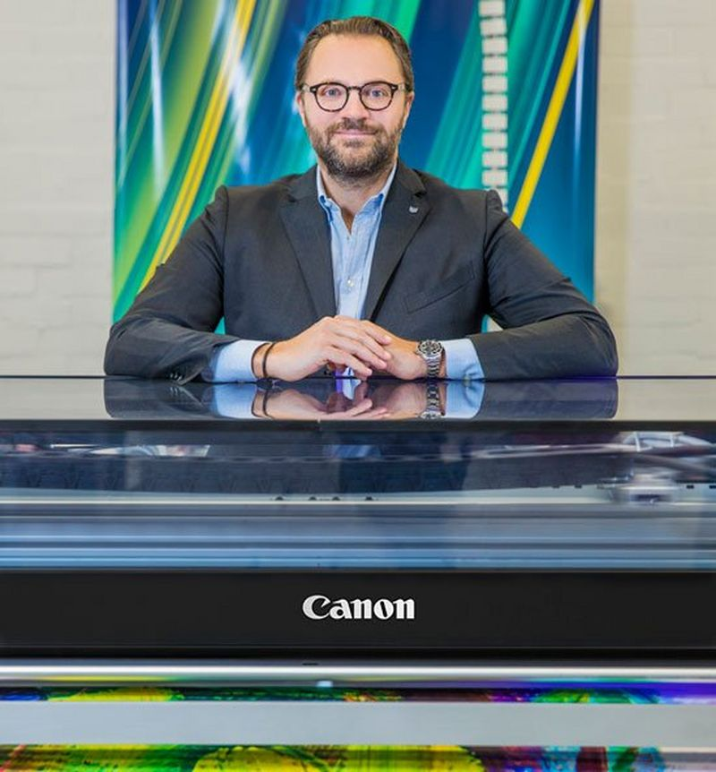 Michele Tuscano with Canon branded Colorado.jpg