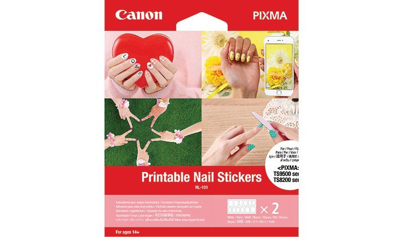 image about Sticker Printable Paper identify Canon Printable Nail Stickers NL-101 - Canon Cyprus