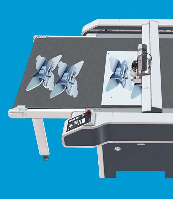 Highly accurate, automated cutting tables that offer exceptional versatility and productivity for graphic applications