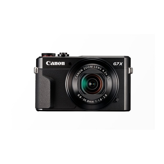Canon camera PowerShot G7 x Mark II