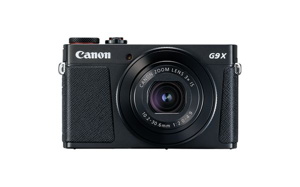 PowerShot G9 X Mark II Black Front