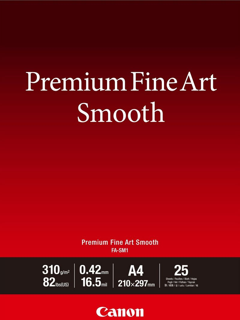 Premium Fine Art Smooth A4