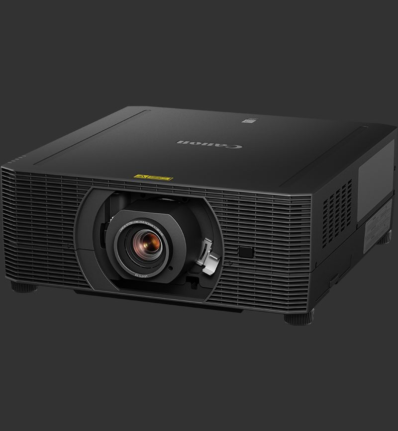 The Canon XEED 4K5020Z projector.