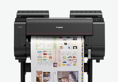 Proofing poster printer