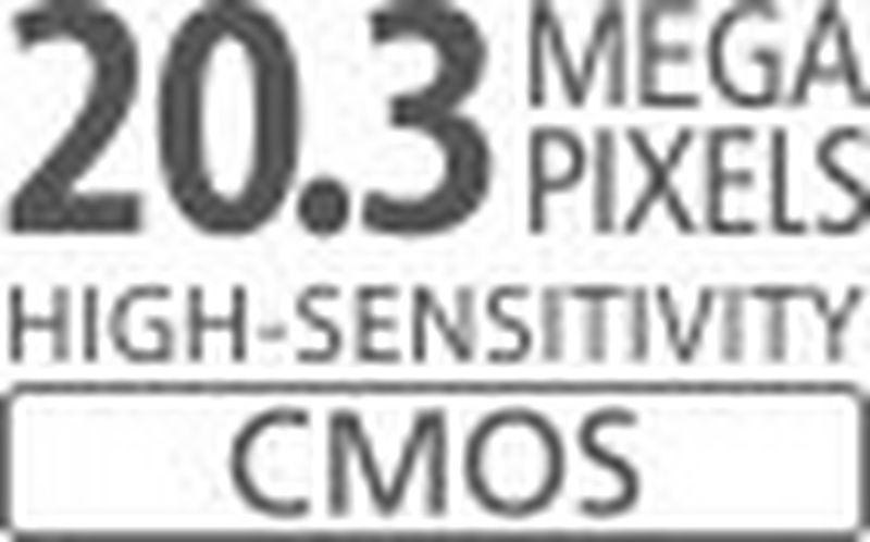 20,3-megapixlový snímač CMOS