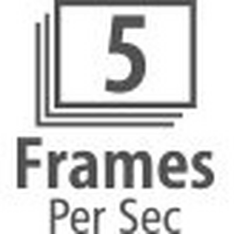 Up to 5.0 Frames Per Second