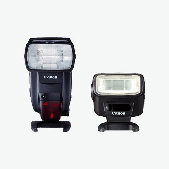 Image of 2 popular Canon Speedlite flashes