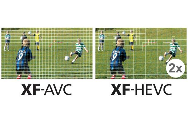 New and efficient XF-HEVC file format