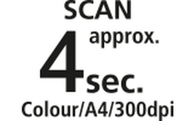 A4 colour document scan speed