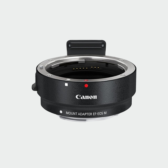 6098B005 - Canon Lens Mount Adapter EF-EOS M with Removable Tripod Mount