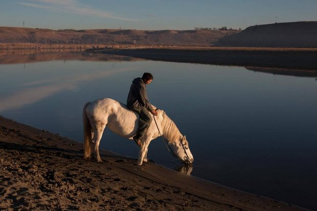 "Horses are central in Sioux culture, described ""like my brothers,"" by one youth."