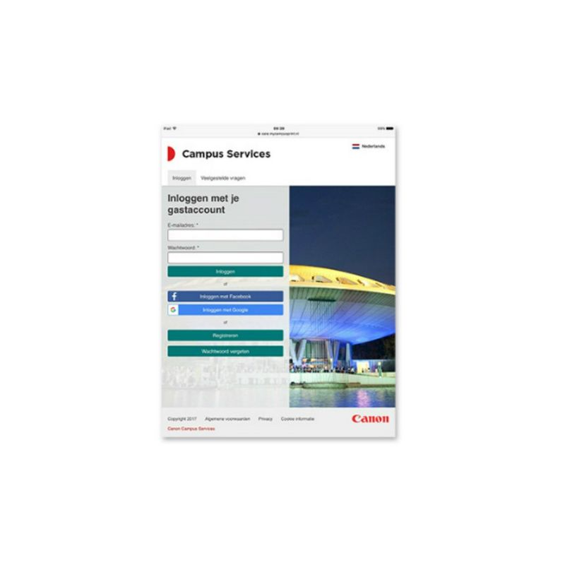 Canon Campus Portal is vernieuwd