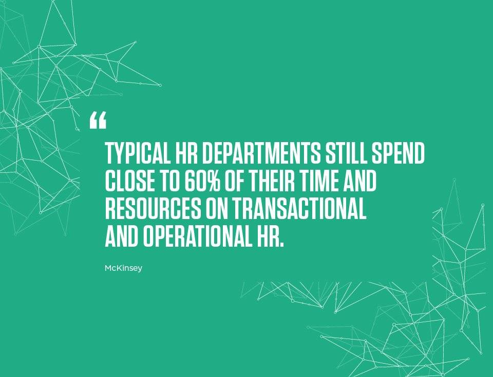 The best-performing HR departments spend