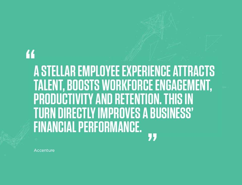 Employee experience counts