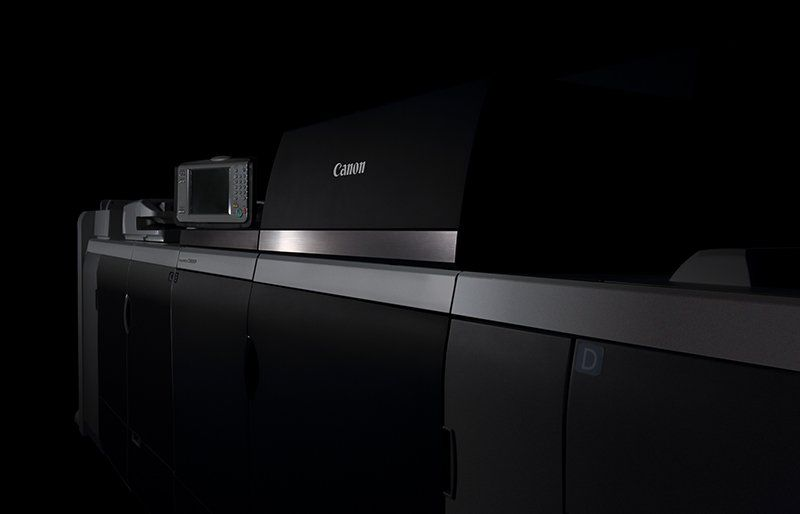 Image of new imagePRESS C10010VP with dark background