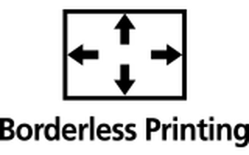 Borderless printing