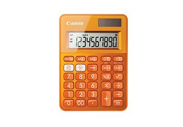 Canon orange calculator