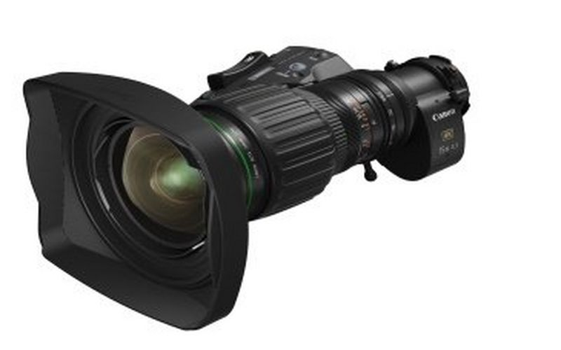 Canon announces the CJ15ex4.3B – a 4K broadcast portable zoom lens with class-leading magnification and wide-angle focal length