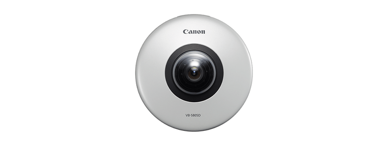 Canon vb s805d security camera