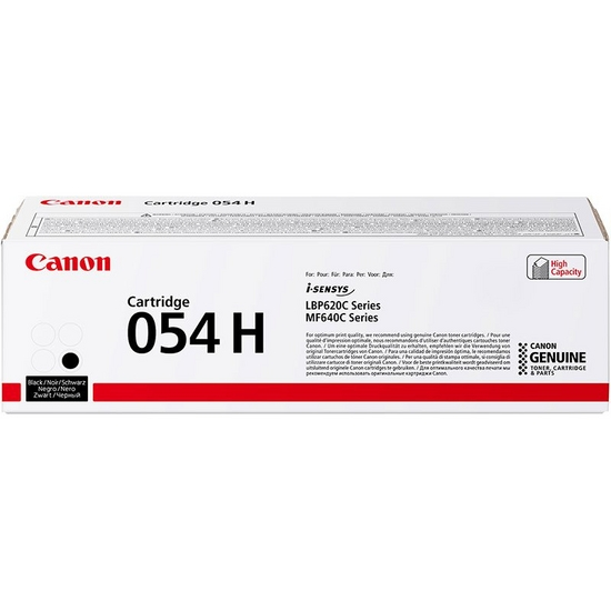 Cartridge 054H Black High Capacity