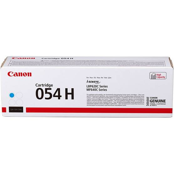 Cartridge 054H Cyan High Capacity