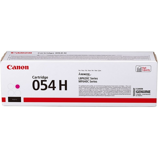 Cartridge 054H Magenta High Capacity