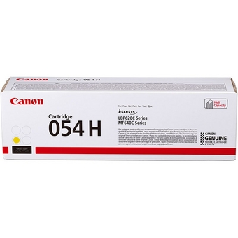 Cartridge 054H Yellow High Capacity