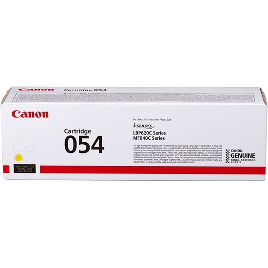 Cartridge 054 Yellow