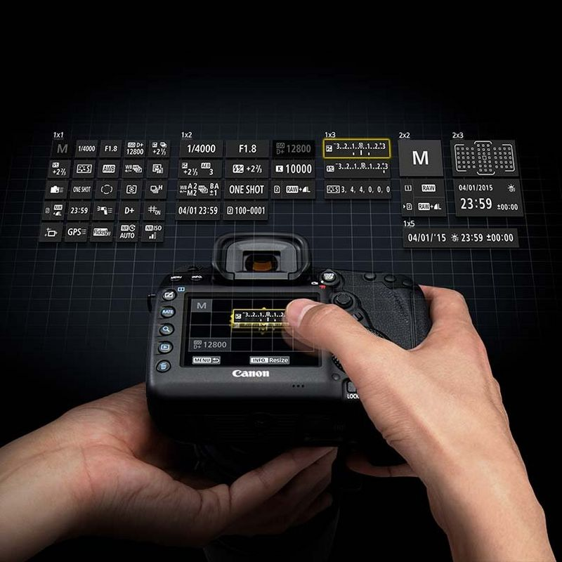 Canon customisable EOS