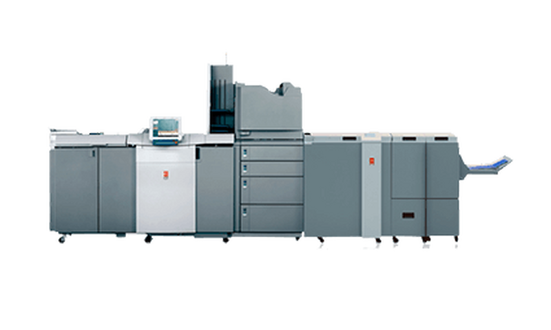 Canon digital presses finishing options