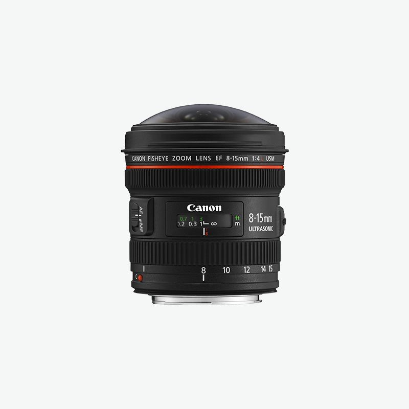 EF 8-15mm f/4L Fisheye USM L series Lense