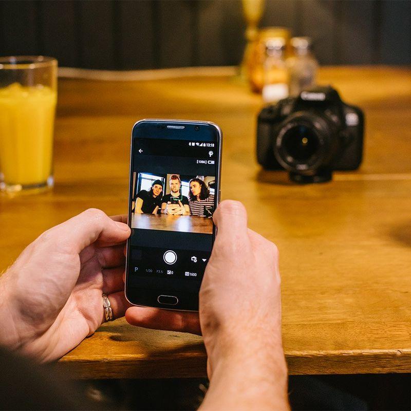 Social sharing, remote shooting