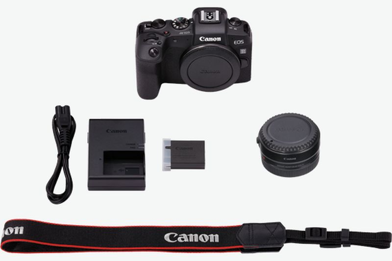 Canon EOS RP what's in the box
