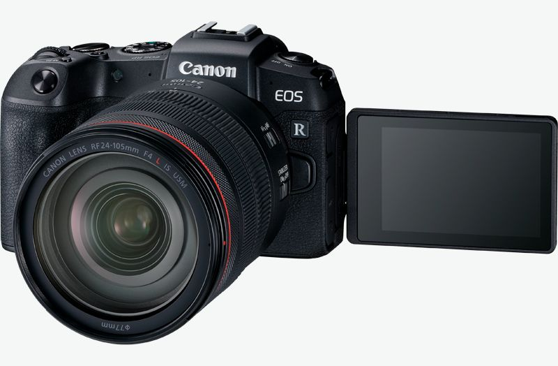 Canon EOS RP with RF 24-105