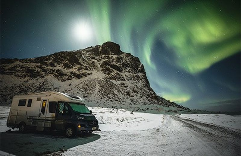 A family adventure chasing the Northern Lights