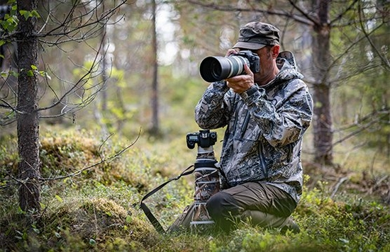 Powerful and fast wildlife photos with the Canon JOEY
