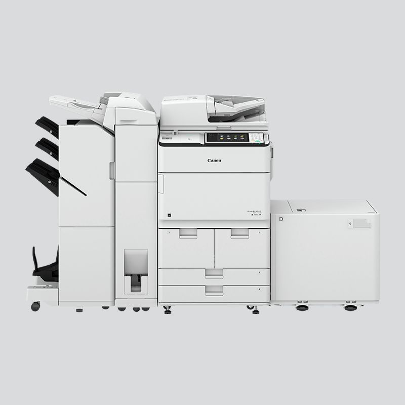 canon ir adv c5240 how to find printer