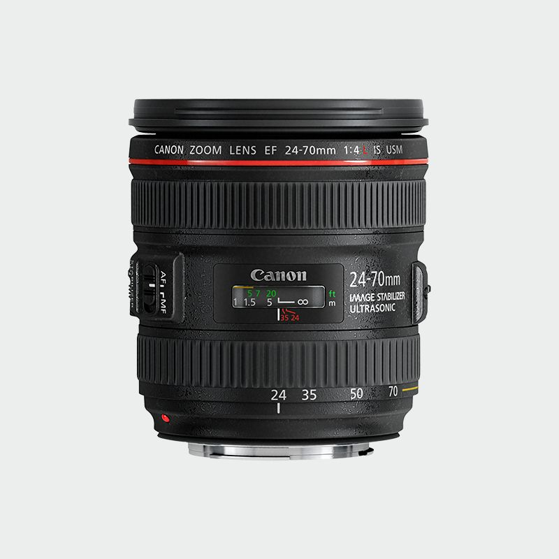 EF 24-70mm f/4L IS USM L series Lense