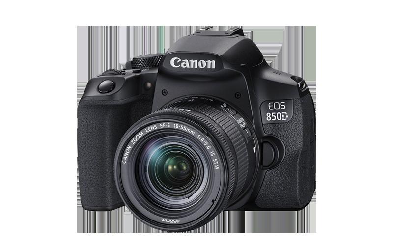 Canon EOS 850D pack shot