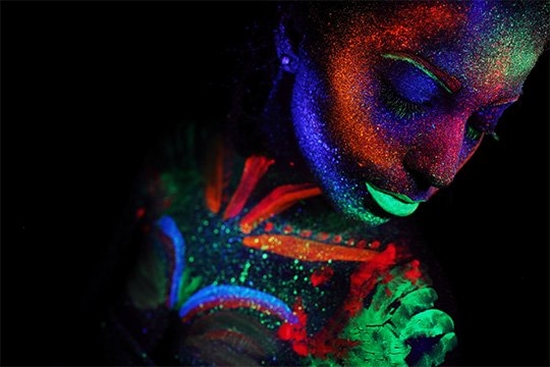 Photographing body painting with the Canon EOS R