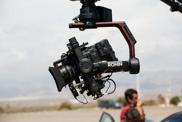 The Canon EOS C500 Mark II on the Ronin 2 gimbal ready for a day of shooting.