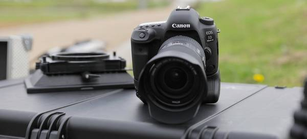 The Canon EOS 5D Mark IV.