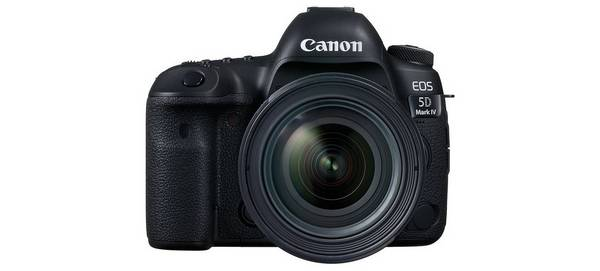 A Canon EOS 5D Mark IV camera