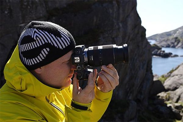Richard Walch takes a photo on a Canon EOS RP with a Canon RF 24-240mm F4-6.3 IS USM lens.
